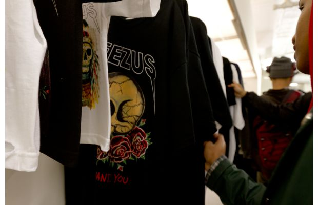 Kanye West Yeezus Tour Pop-Up Store in NYC 8