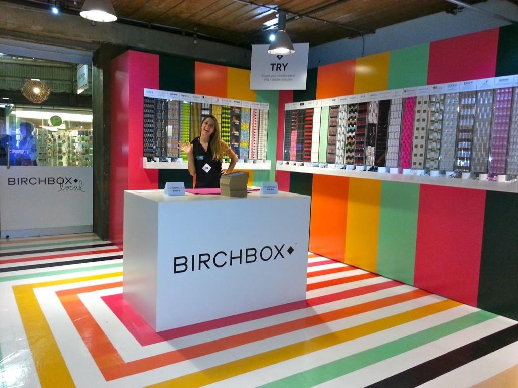 Birchbox local Pop-Up Shop in New York 2